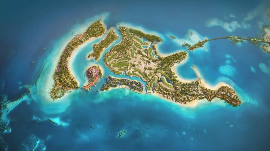 """ولي العهد يطلق الرؤية التصميمية""""كورال بلوم"""" للجزيرة الرئيسية في البحر الأحمر"""