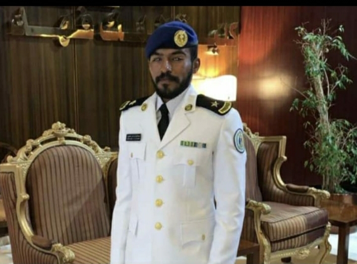 الحجيري يتلقى التهاني بتخرج الملازم عبدالعزيز