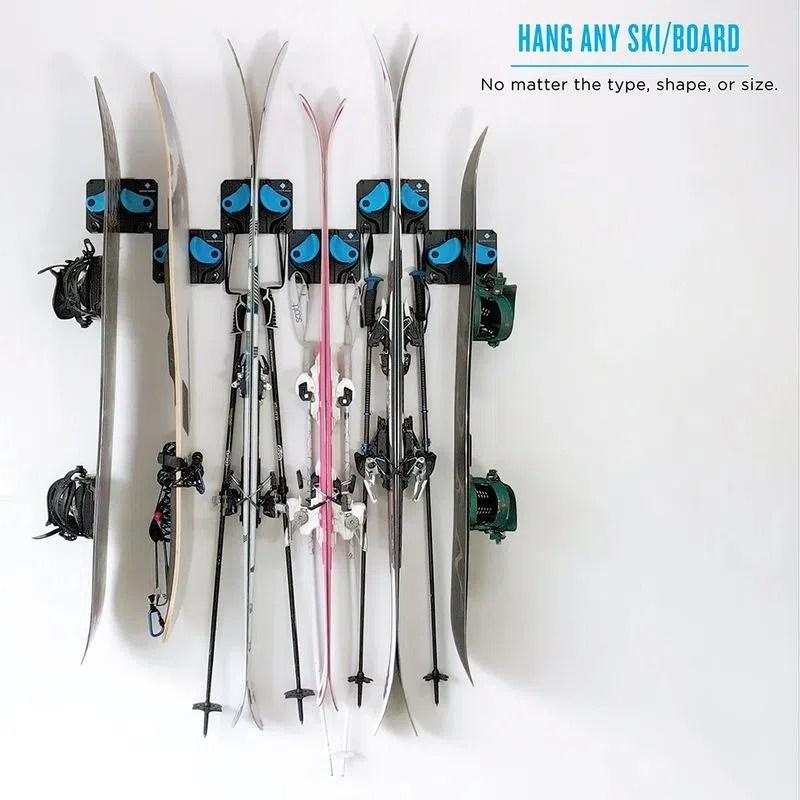 gravity grabber the ultimate ski snowboard rack
