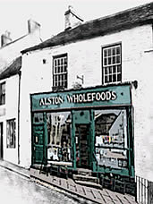 Alston Wholefoods shop front