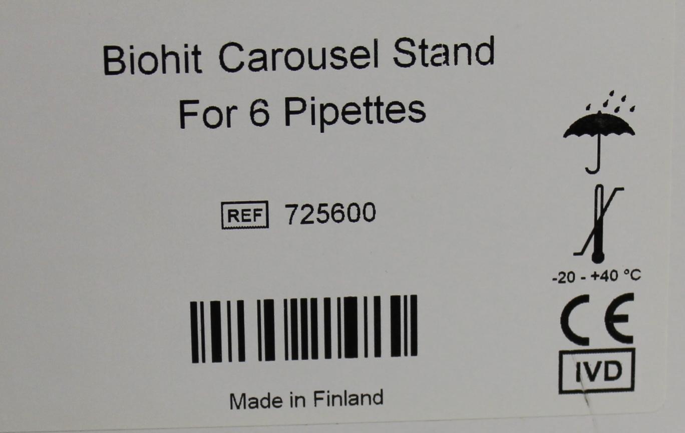 Refurbished Biohit Carousel Stand