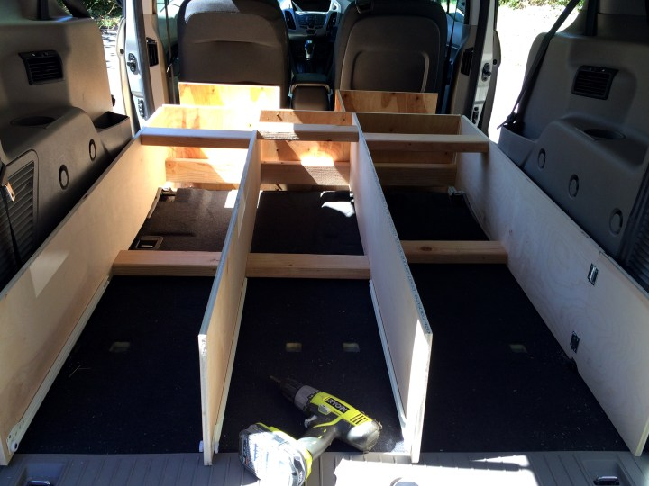 Our Micro Camper: A DIY Ford Transit Connect Conversion