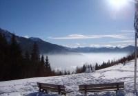 Berge über dem Nebelmeer