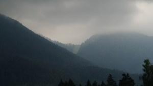 So klar sind die Aussichten, was einen beim anstehenden 100-Meilen-Berglauf erwartet.