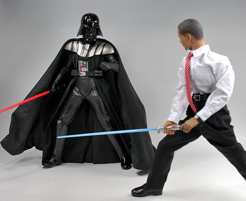 Obama vs Dartha Vader