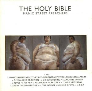 Richey Edwards - Manic Street Preachers, altenrative rock, favorite books, the holy bible