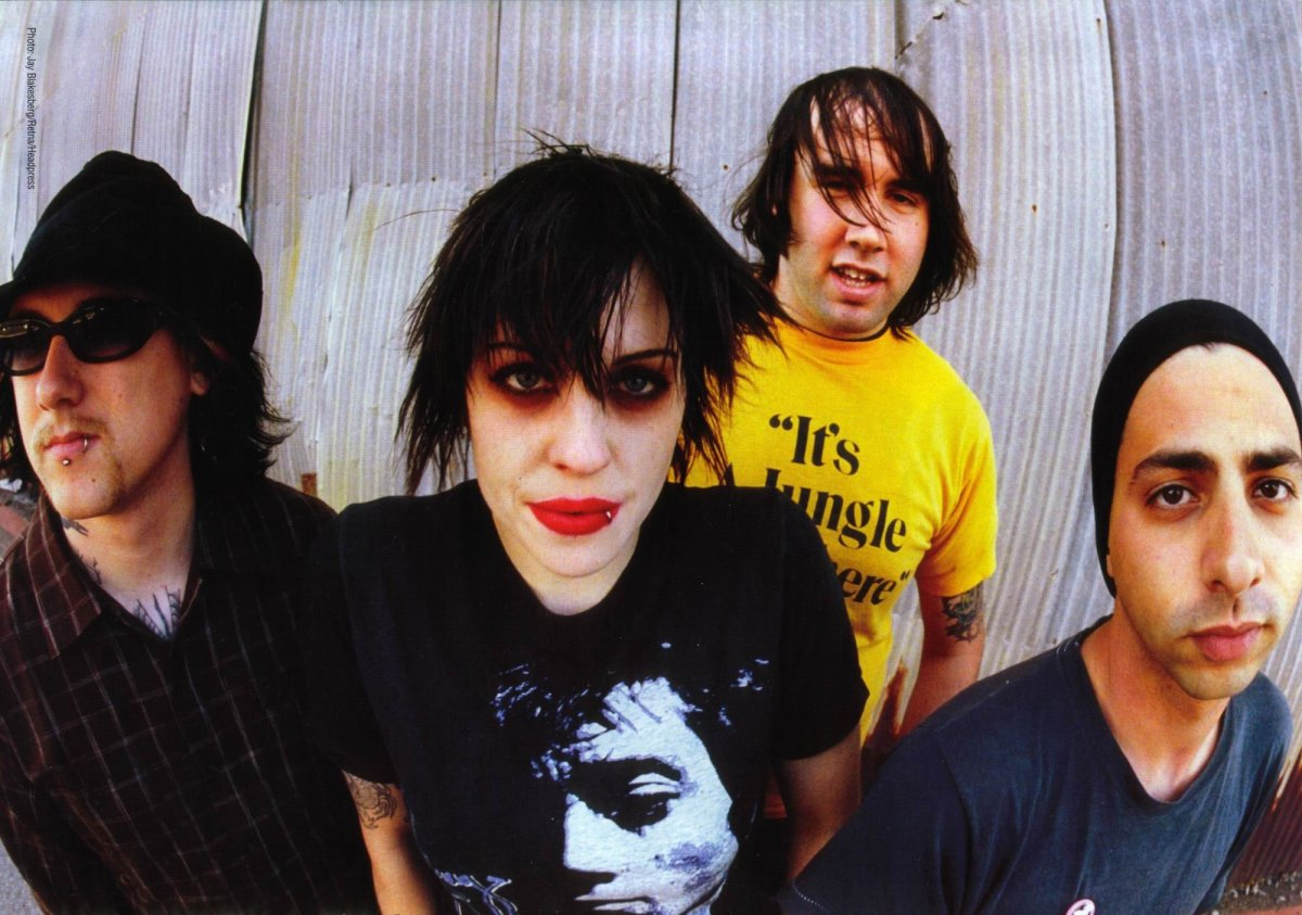 It looks like the Distillers are reuniting in 2018