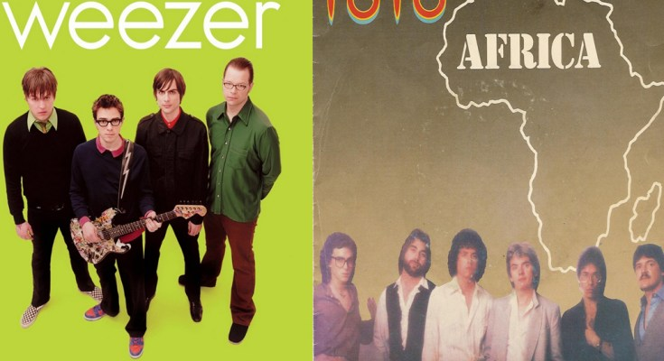 Weezer - Africa , cover of Toto's hit