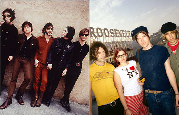 Brian Jonestown Massacre & Dandy Warhols, worlds apart on new singles