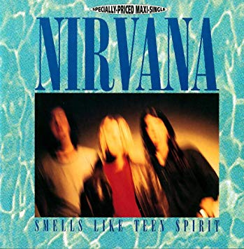 Nirvana - Smells like Teen spirit single, from the NEvermind album