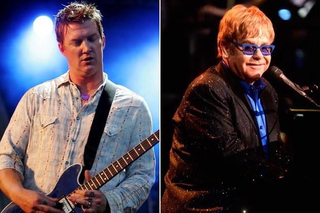 Elton John Queens of the Stone Age - alternative rock