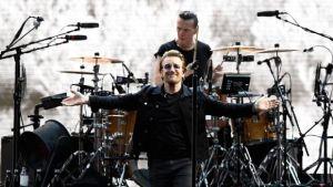 U2 singer, Bono. Source: Reuters/Dylan Martinez