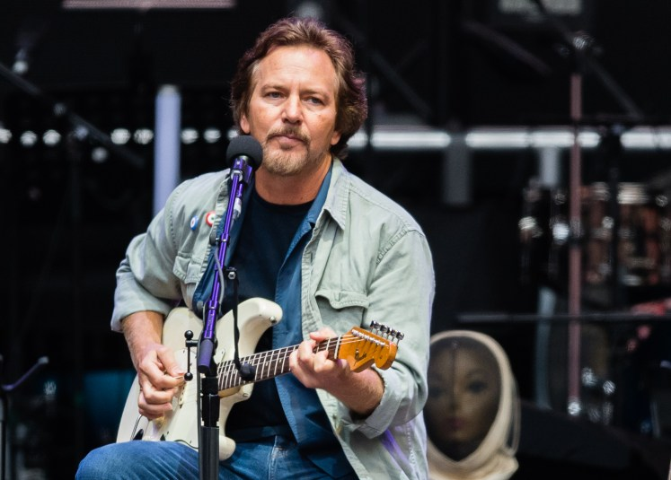 Eddie Vedder. Credit to Samir Hussein/WireImage