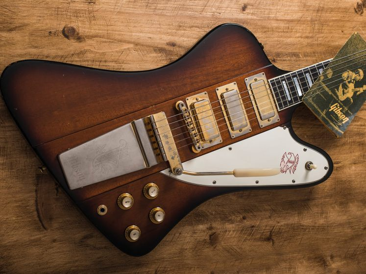 The Gibson Firebird,  guitars for punk rock