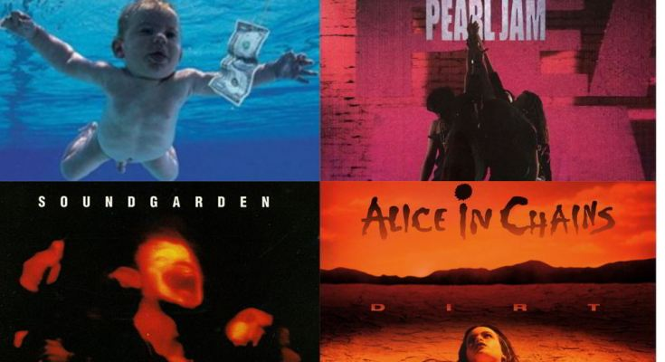 10 biggest grunge albums of all time