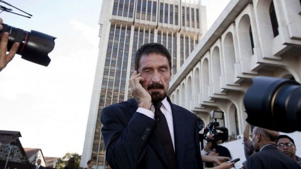 John McAfee detenido en España por evasión de impuestos con criptomonedas