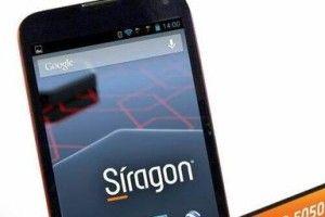 Siragon amplía su oferta de teléfonos inteligentes