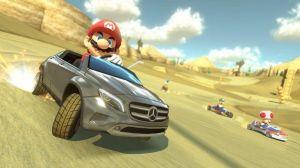 Mario Kart 8 recibirá un Mercedes GLA en formato descargable