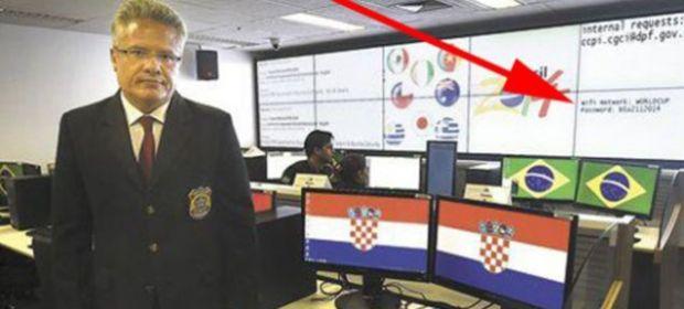 El centro de seguridad del Mundial filtra por error su contraseña WiFi