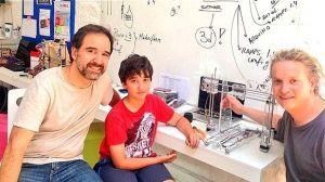 Impresora 3D de bajo costo, fácil de usar y hecha en Uruguay