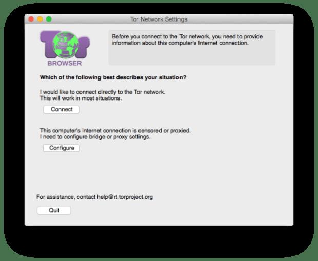 Cómo empezar a utilizar el navegador anónimo