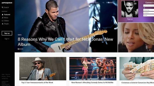 Myspace pierde por error más de 50 millones de canciones