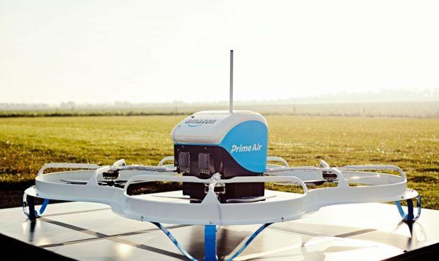 Las entregas de pedidos usando drones están a punto de aterrizar