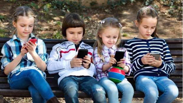 Configuración ideal para un móvil manejado por un niño