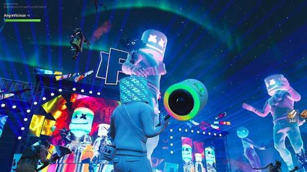 DJ Marshmello en Fortnite