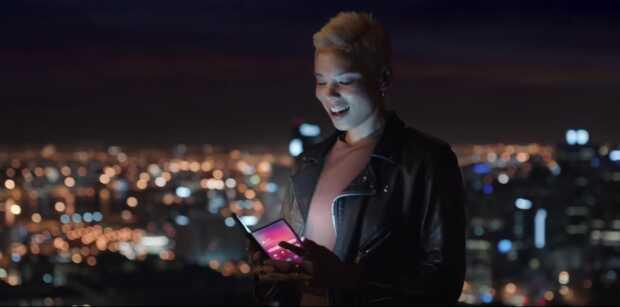 Samsung muestra su móvil plegable como parte de su visión de futuro