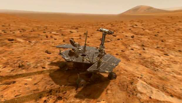 Robot Rover Opportunity