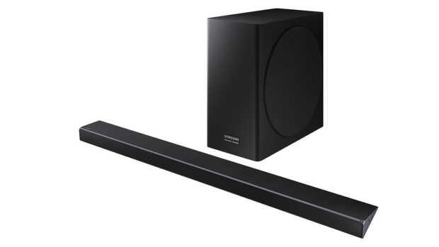 Barras de sonido de la serie Q de Samsung optimizadas para televisores QLED