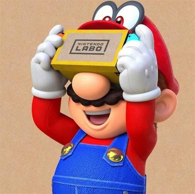 Nintendo introduce la realidad virtual a dos de sus videojuegos más populares de la consola Switch Nintendo Labo