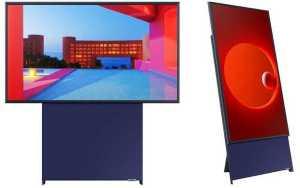 TV Samsung con orientación vertical (los millennials ganaron)