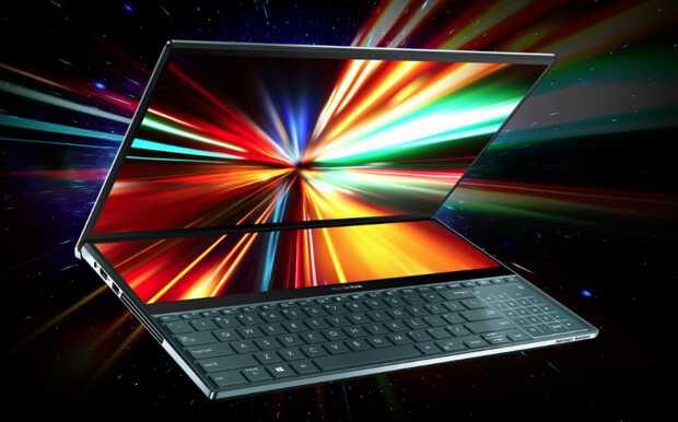 Este parece ser el año de la doble pantalla para las portátiles Asus ZenBook Pro Duo