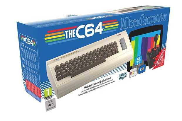 TheC64 vuelve a usar una réplica del teclado del Commodore 64 pero esta vez en tamaño completo y funcional