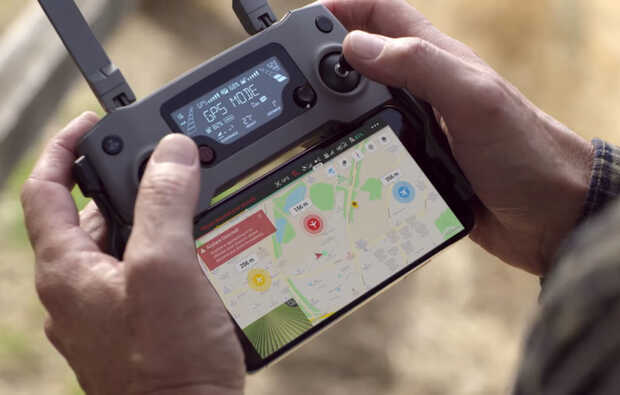DJI AirSense agrega detección de aviones a drones de consumo
