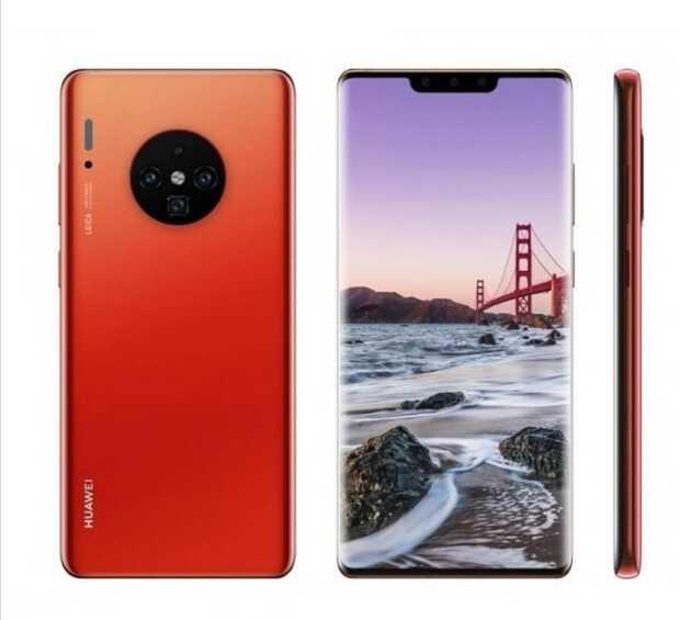 Filtran diseño del Mate 30 Pro de Huawei que será lanzardo mucho antes de lo esperado