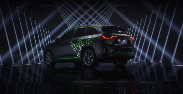 Presentan exclusivo auto SUV eléctrico para gamers