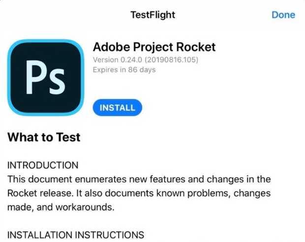 Adobe libera primera beta de Photoshop para iPad