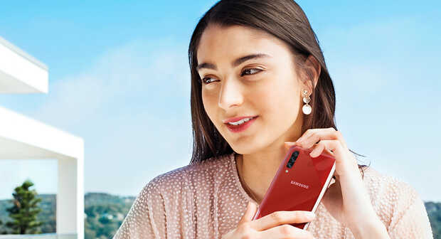 Galaxy A70s: primer Samsung con cámara de 64 MP y es gama media