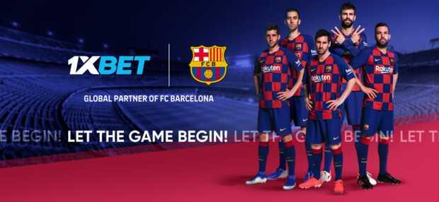 FC Barcelona incluye a 1xBet como su nuevo socio global