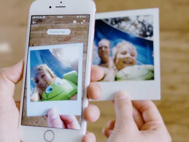 Polaroidesconde vídeos dentro de las fotos con Realidad Aumentada