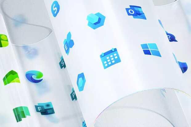 Microsoft revela nuevo diseño del logo de Windows y 100 iconos de apps
