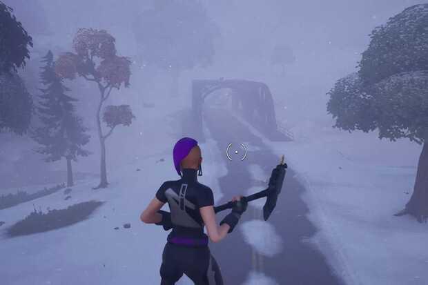 Fortnite ahora tiene tormentas de nieve al azar