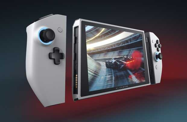 Dell presenta prototipo de  PC gaming con forma de Nintendo Switch