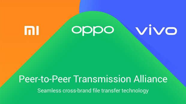 Xiaomi, Vivo y Oppo lanzan nuevo sistema de transferencia rápida de archivos