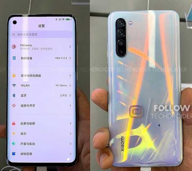 Xiaomi Mi 10 se parece mucho al Mi Note 10 según imágenes filtradas