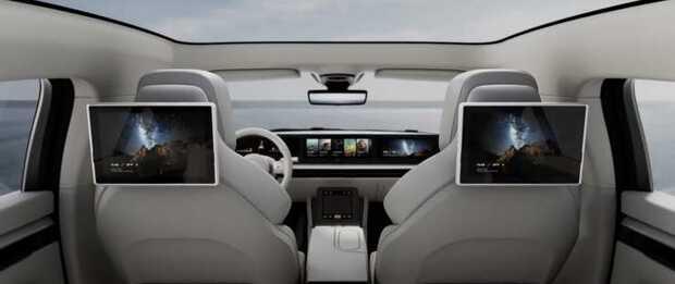 Auto eléctrico inteligente VISION-S de Sony con 33 sensores #CES2020