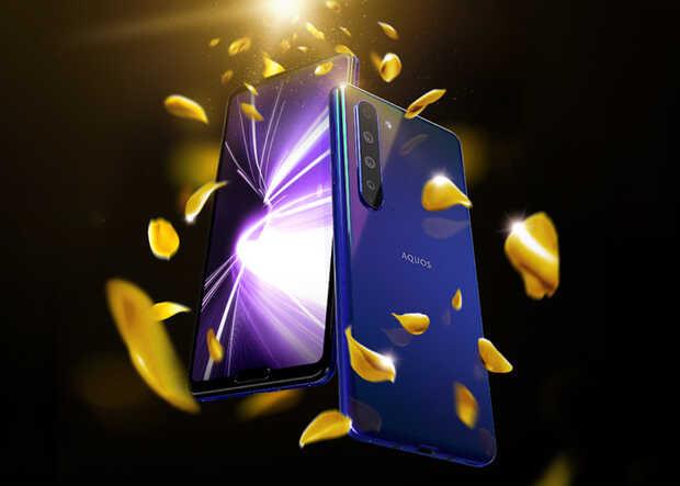 Sharp lanza primer teléfono inteligente 5G de Japón y graba videos en 8K